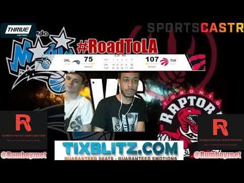 Orlando Magic vs Toronto Raptors LIVE Reactions and Play by Play! #NBA #NBAplayoffs