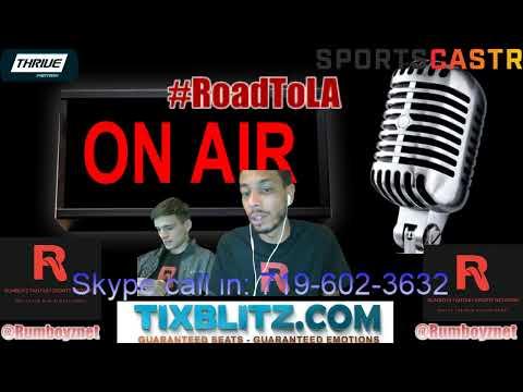Sports Talk with Robbie J and TyeBoogie!