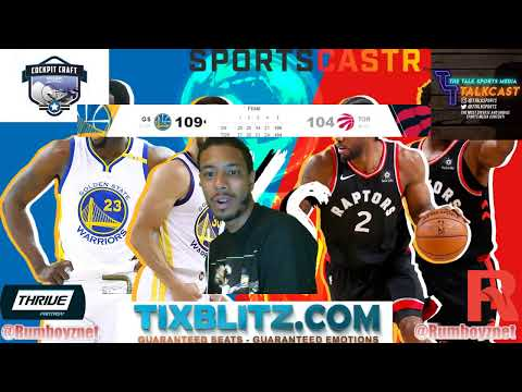 Golden State Warriors vs Toronto Raptors NBA Finals Game 2 LIVE Play by Play and Reactions! #NBA