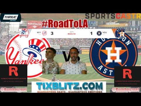 New York Yankees vs Houston Astros PxP and Reactions! #MLB #Yaknkees #Astros
