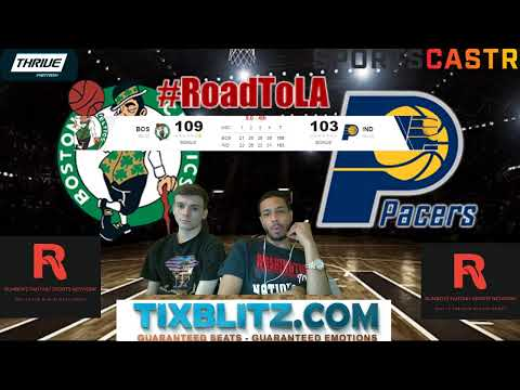 Boston Celtics vs Indiana Pacers LIVE play by play and Reactions! #NBA #NBAplayoffs