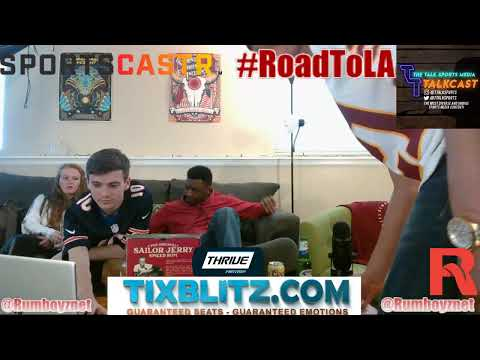 NFL Draft Day party LIVE reactions with guest!
