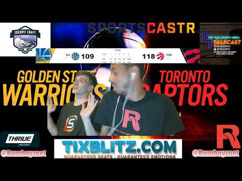 Golden State Warriors vs Toronto Raptors Game 1 LIVE Play by Play and Reactions! #NBAFinals #NBA