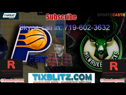 Indiana Pacers vs Milwaukee Bucks Live stream play by play and reactions!