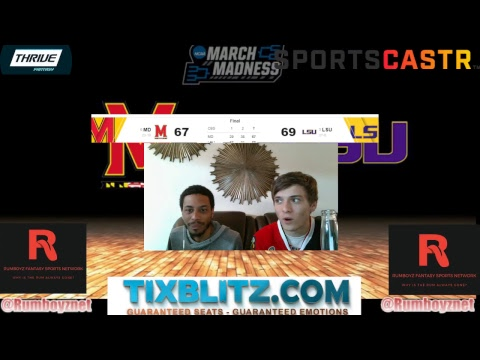 Maryland vs LSU! #MarchMadness #Braketology #FinalFour