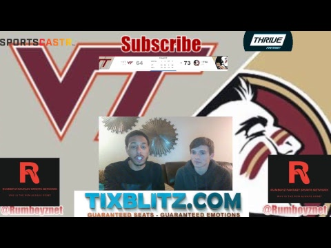 Virginia Tech vs. Florida State Live stream play by play and reactions!