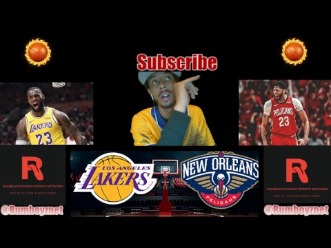 LA Lakers vs New Orleans Pelicans LIVE play by play & Reactions