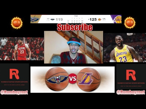 Lakers vs Pelicans Part 2 LIVE play by play and reactions! #LakeShow #DoitBIG