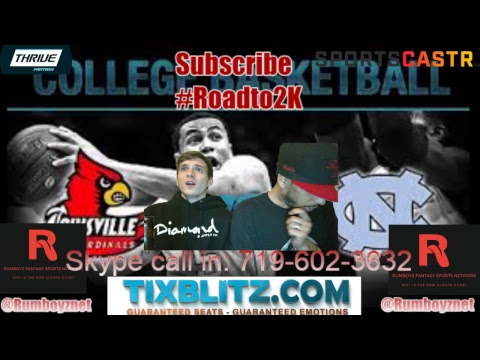 Louisville vs North Carolina ACC Men's Quarterfinal play by play and reactions!