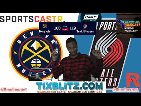 Denver Nuggets vs Portland TrailBlazers Game 6 LIVE reactions and play by play! #NBA #NBAplayoffs