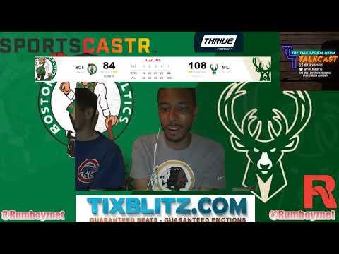 Boston Celtics vs Milwaukee Bucks Game 5 LIVE reactions and play by play! #NBA #NBAplayoffs