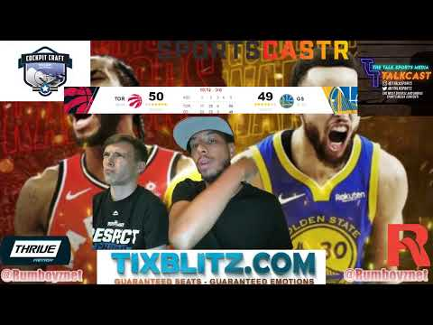 Golden State Warriors vs Toronto Raptors NBA Finals Game 4 LIVE Play by Play and Reactions! #NBA
