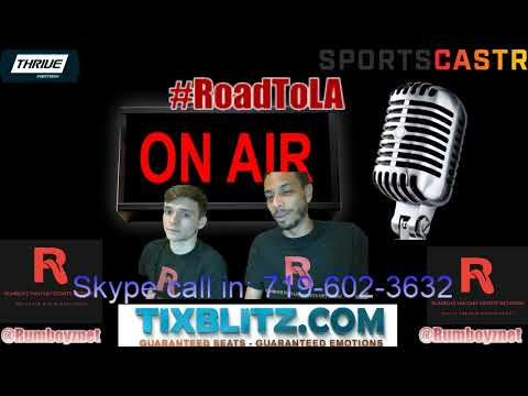 All Sports Talk with the Rumboyz! #CallInShow