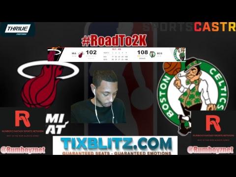 Miami Heat vs Boston Celtics #NBA #DwayneWade #KyrieIrving