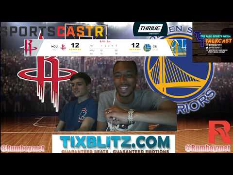 Houston Rockets vs Golden State Warriors Game 5 LIVE reactions and play by play! #NBA #NBAplayoffs