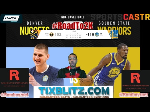 Denver Nuggets vs Golden State Warriors Play by Play and Reactions! #NBA