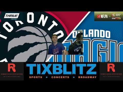 Toronto Raptors vs Orlando Magic! #NBA #NBAplayoffs