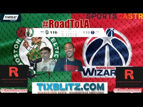 Boston Celtics vs Washington Wizards Play by Play and reactions! #NBA