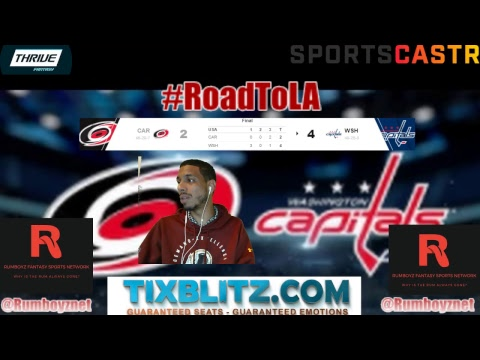 Carolina Hurricanes vs Washington Capitals play by play and reactions! #NHL #StanleyCupPlayoffs