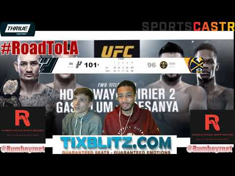 UFC 236 LIVE Reactions and Play by Play! #UFC236 #MMA #FightNight