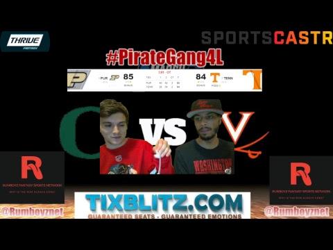 Florida State vs Gonzaga & Purdue vs Tennessee #MarchMadness #FinalFour #SweetSixteen