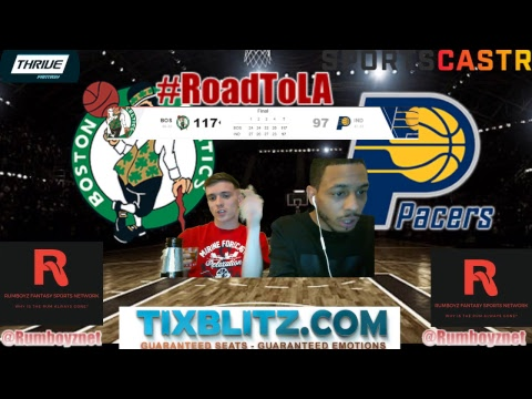 Boston Celtics vs Indiana Pacers Play by Play and Reactions! #NBA #Playoffs