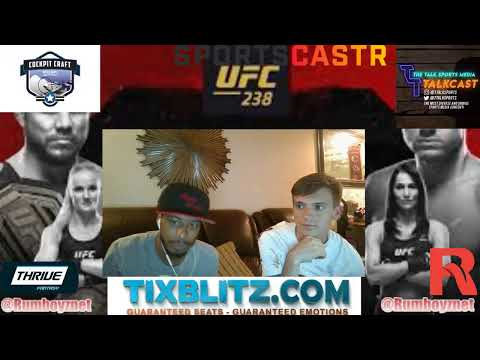 UFC 238 Fight Night Cejudo vs Morales LIVE Play by Play and Reactions! #UFC238