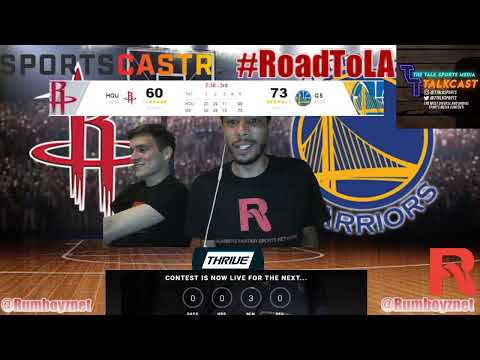 Houston Rockets vs Golden State Warriors Game 2 LIVE reactions and play by play! #NBA #NBAplayoffs