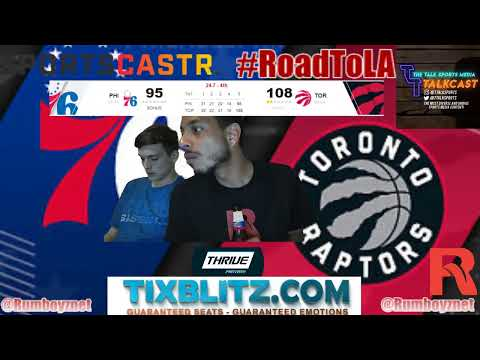 Philadelphia 76ers vs Toronto Raptors Game 1 LIVE PxP reactions! #NBA #NBAplayoffs