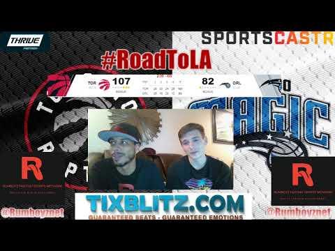Toronto Raptors vs Orlando Magic LIVE play by play and Reactions! #NBA #NBAplayoffs