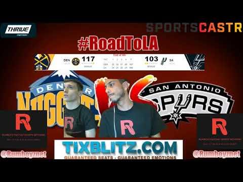 Denver Nuggets vs San Antonio Spurs! #NBA #NBAplayoffs