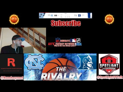 NCAA Live Stream UNC VS DUKE live play by play and reactions