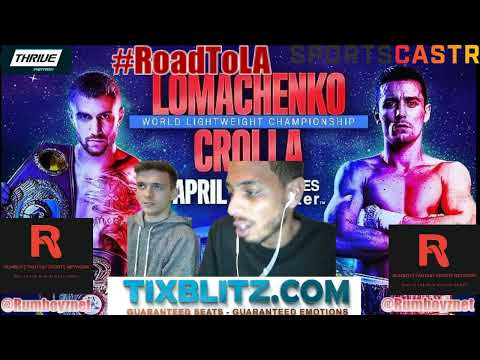Fight Night: Lomachenko vs Crolla #Boxing #FightNight #Prelims