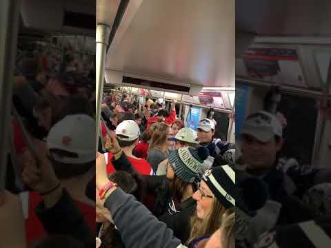 Subway for the pats parade