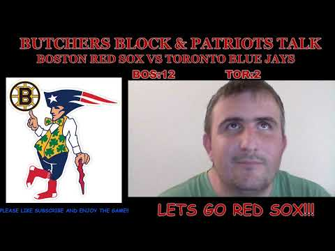Boston Red Sox vs Toronto Blue Jays live reaction and play by play