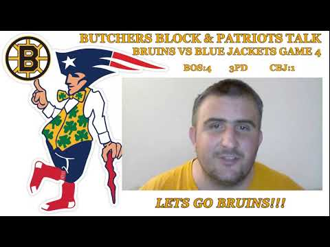 Boston Bruins vs Columbus Blue Jackets Game 4 play by play & reaction