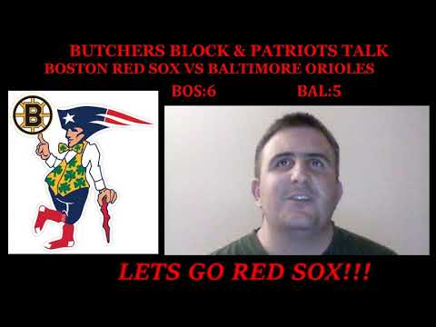 Boston Red Sox vs Baltimore Orioles live reaction & play by play