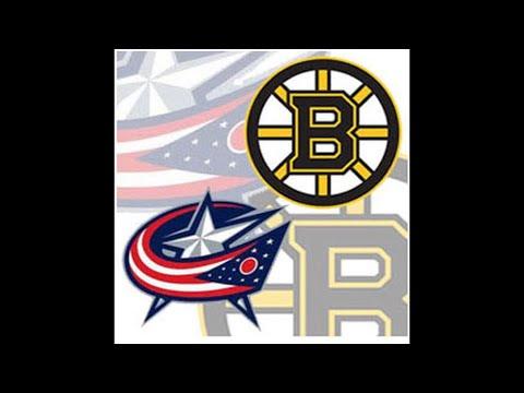 Boston Bruins vs Columbus Blue Jackets play by play