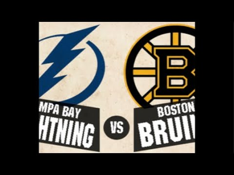 Boston Bruins vs Tampa Bay Lightning play by play
