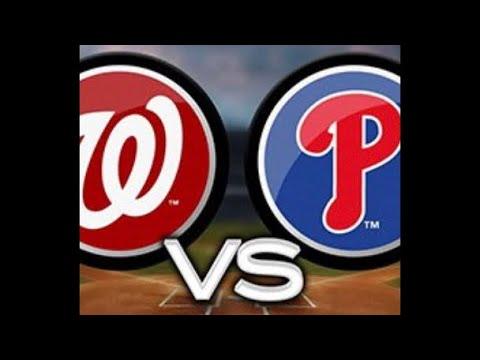 Philadelphia Phillies vs Washington Nationals play by play
