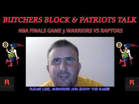 NBA Finals Game 3 Golden State Warriors vs Toronto Raptors live reaction and play by play