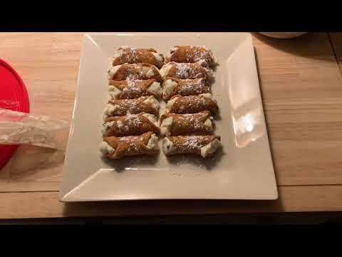 Cooking with the Montagna's: Cannolis part 2