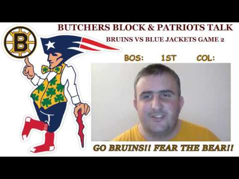 Boston Bruins vs Columbus Blue Jackets Game 2 play by play & reaction
