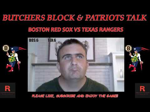 Boston Red Sox vs Texas Rangers live play by play and reaction
