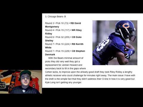 Chicago Bears NFL Draft Review By Jordan Love