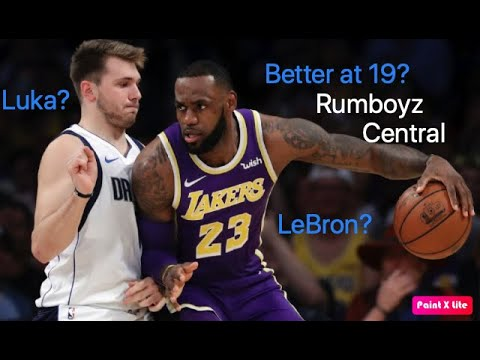 Who was better at 19? LeBron James or Luka Dončić #NBATwitter #LUKAVSLEBRON