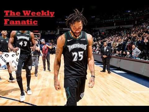 The Unlikely comeback of Derrick Rose