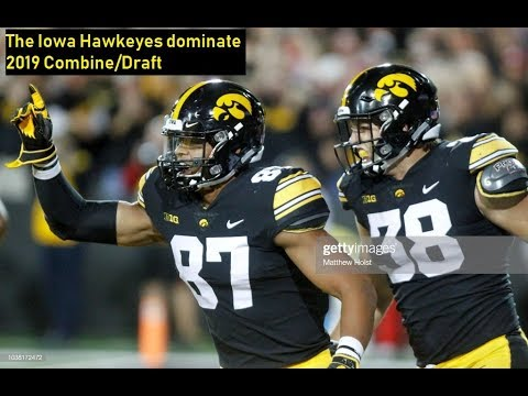 Iowa DOMINATES the NFL draft…