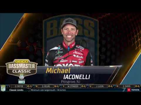 One the Boat Episode 2!!! BASSMASTERS DAY 2 #Bassmasters