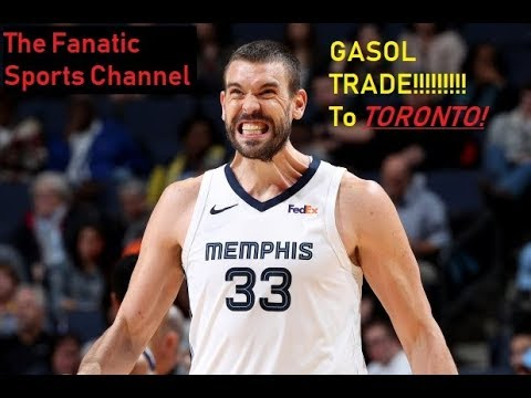 #NBATradeDeadline #MarcGasol gets traded! to the Toronto Raptors